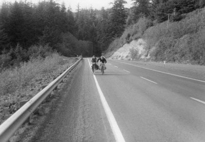 The first hills in Oregon