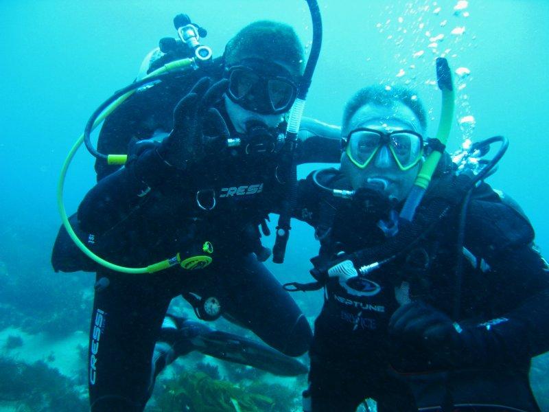 Harry & Glen on Castle Rock