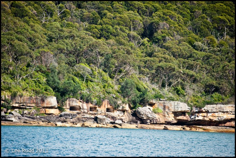 Caves, Chowder Bay