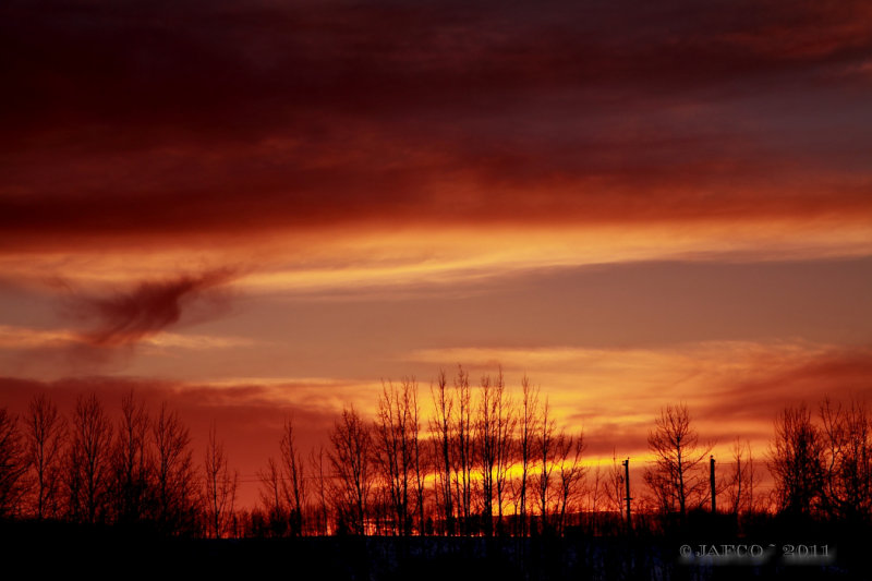 march 28 sunset