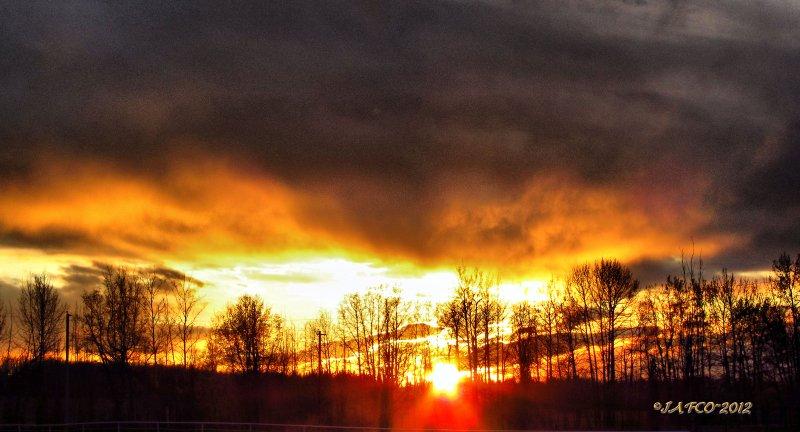 May 10 sunset