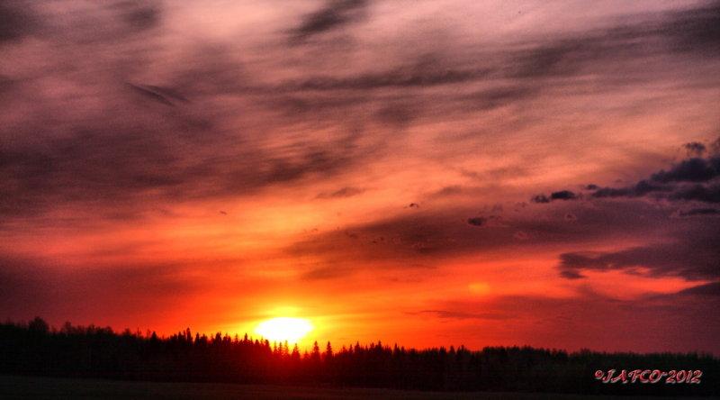 May 14 2012 sunset