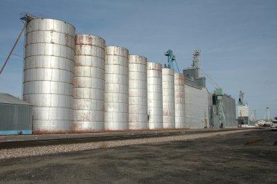 Wray, CO grain elevators.