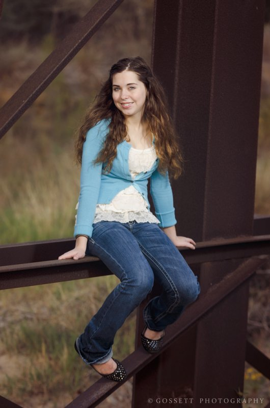 Bethany under the bridge