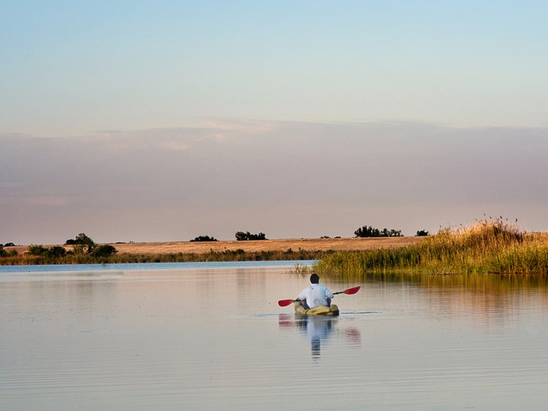 Kayaking at Coleto
