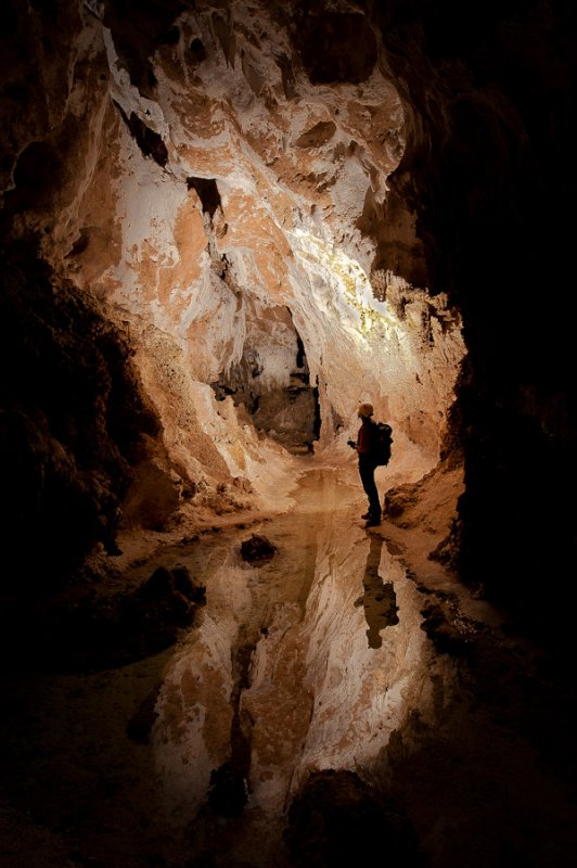B-Open-Carlsbad Caverns, Lower Cave.jpg