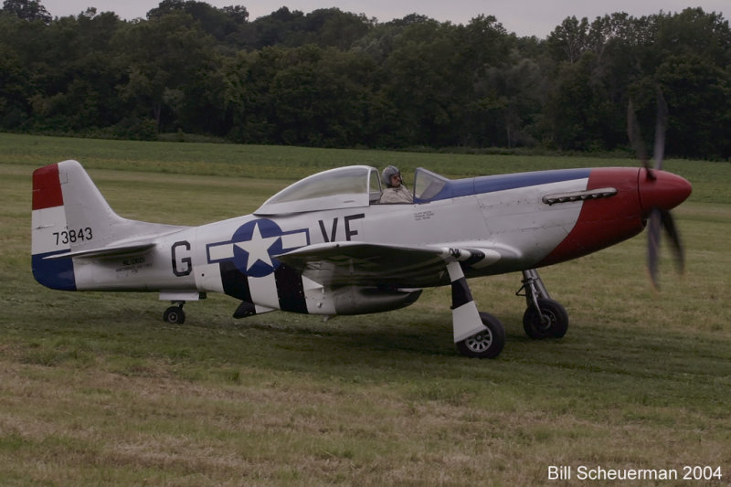 P-51 Old Red Nose