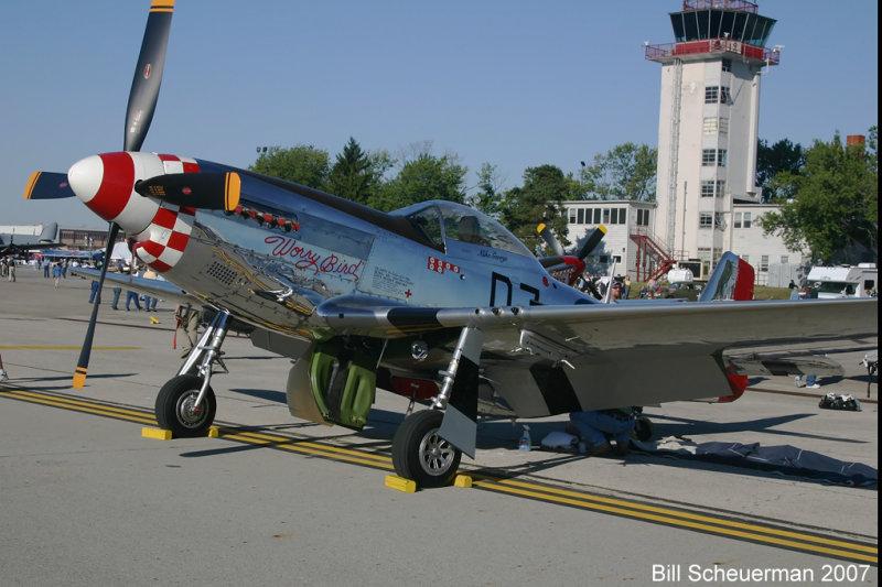 P-51 Worry Bird
