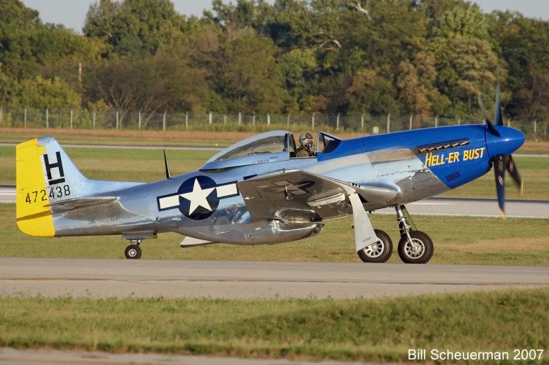 P-51 Hell-er Bust