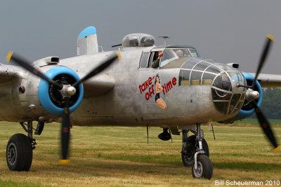 B-25 Take Off Time