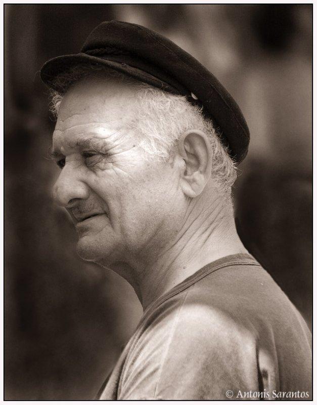 16 Jul 2006 Portrait of a boatman