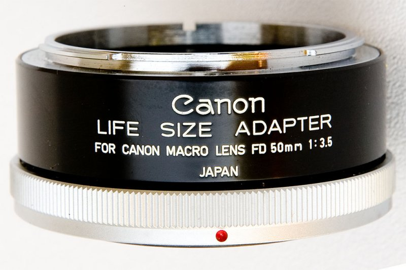 Canon Life Size Adapter for Canon Macro Lens FD 50mm 1:3.5