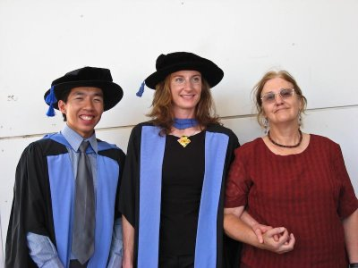 Dr Kwan, Dr Pearson and Dumpy Mum