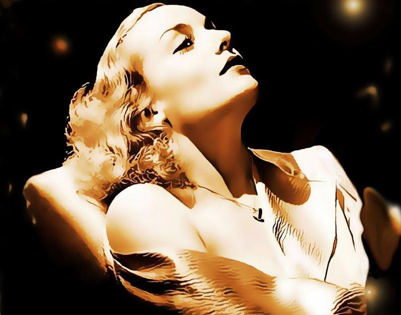golden Carole: a fine line, version III