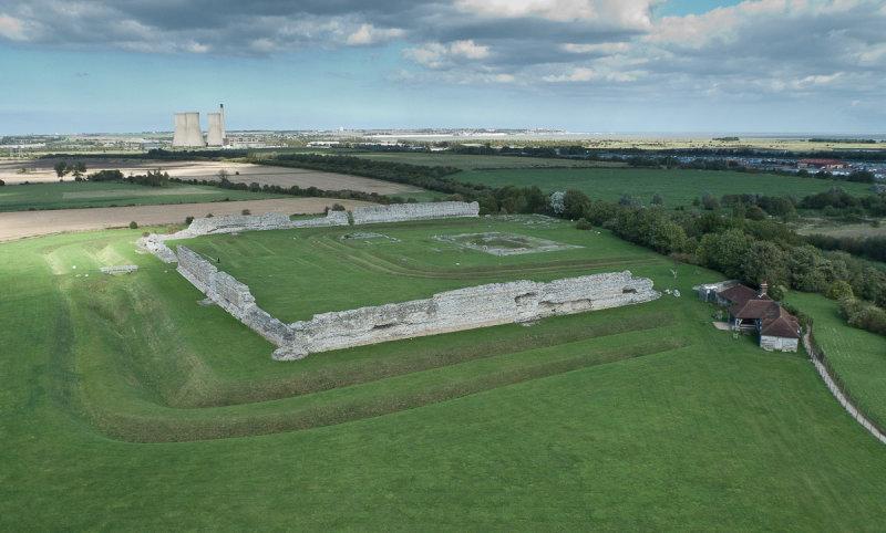 Richborough Castle Ruins KAP