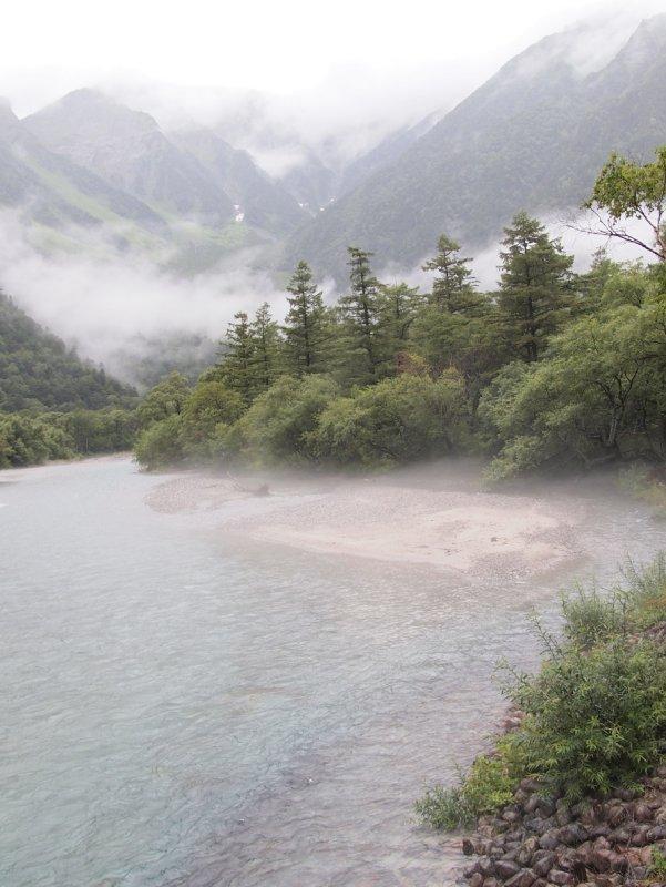 Morning mist of Hotake-Dake!