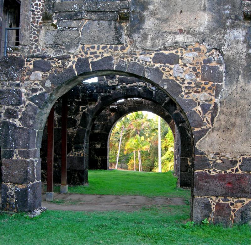 old ruin brazil