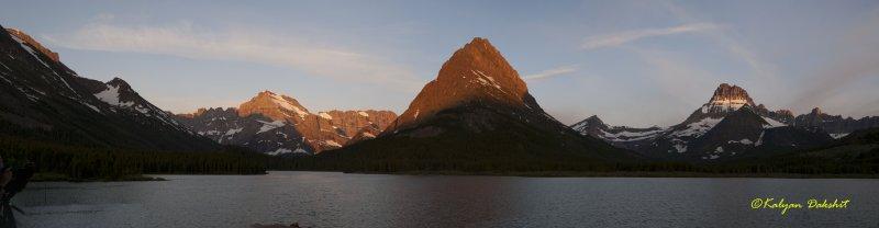 Grinnel Peak at Sunrise