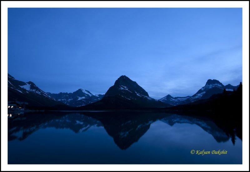 Grinnel Peak at Night