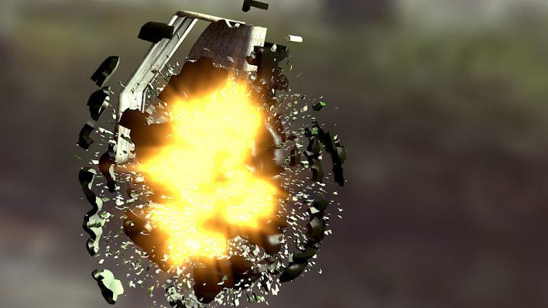 Exploding Grenade