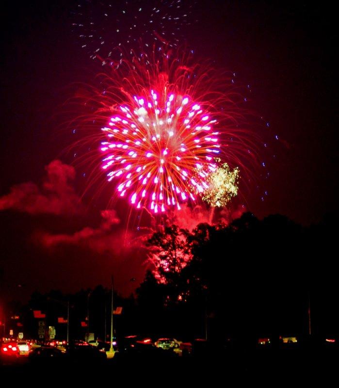 Fireworks, Pickwick State Park