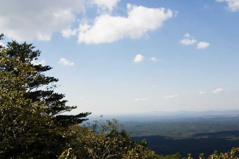 Cheaha Mountain Look out, Bald Rock