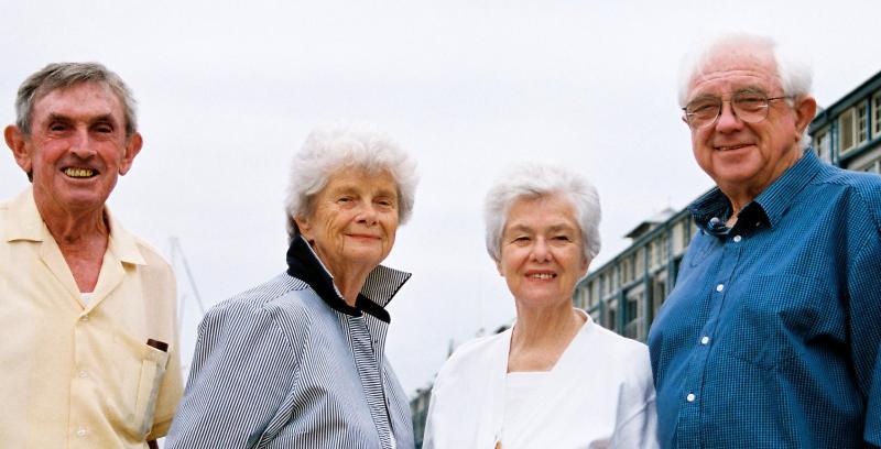 John Hunt, Marie Brady, Kathline Hunt  & John Swadling 2005