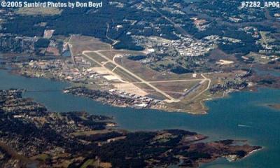 2005 - Langley Air Force Base, Virginia, aerial photo #7282
