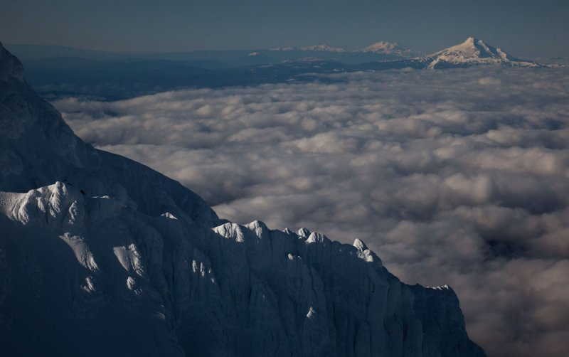 Yocum Ridge, Looking South to Mt. Jefferson <br> (Hood051011-098.jpg)