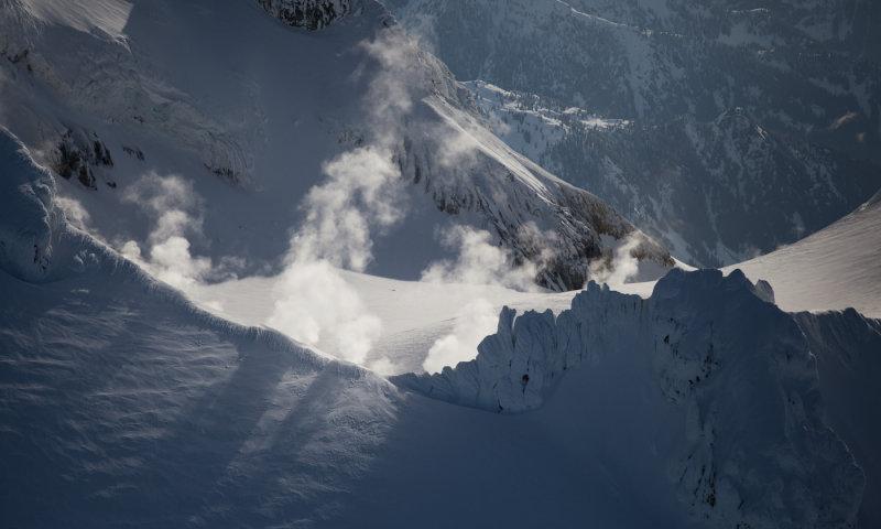 Volcanic Steam & Shadows <br> (MtBaker_050612_050-2.jpg)