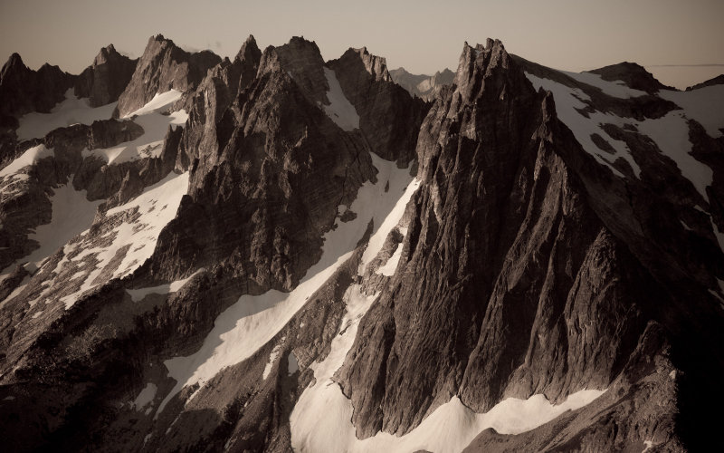 Challenger To Spectre:  The Northern Picket Range <br> (NPickets_090412_22-4.jpg)