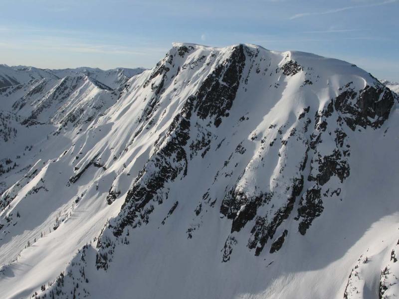 Bear Skull Mt, N Face <br> (DevilsDome-BearSkull042806-18adj.jpg)