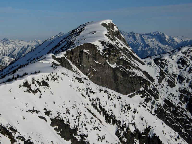 Bear Skull Mt, View W<br>  (DevilsDome-BearSkull042806-20adj.jpg)
