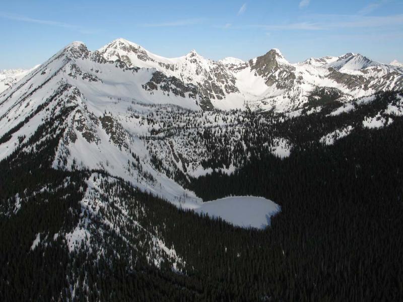 Winthrop Mt, View W (Winthrop042806-23adj.jpg)