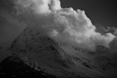 Pyramid Peak From The North Cascades Highway <br> (PyramidPk041711-020.jpg)