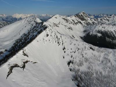 Devils Dome & Bear Skull Mt, View W (DevilsDome-BearSkull042806-01adj.jpg)
