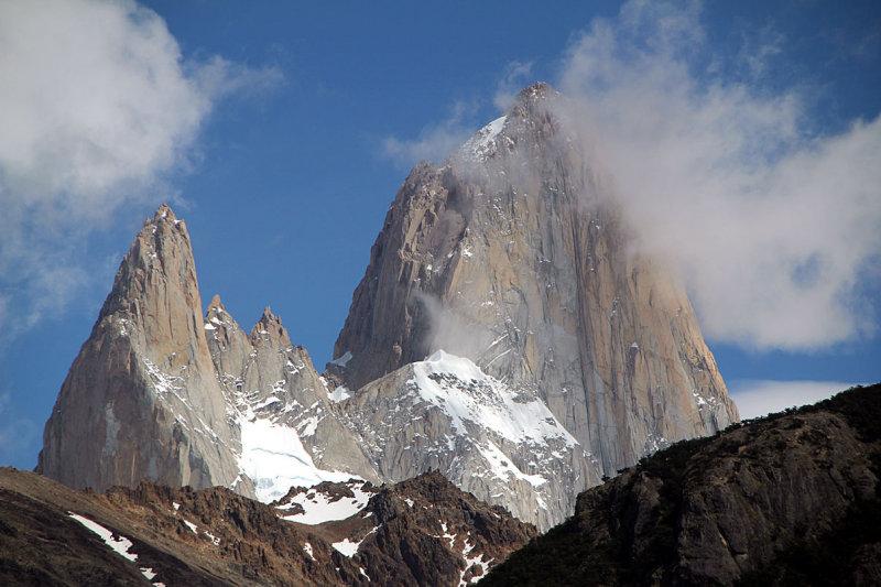 The granite peak of Fitz Roy