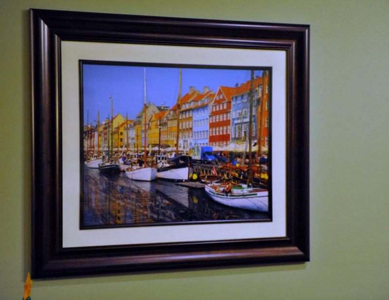 16 x 20 print of Copenhagen Canal