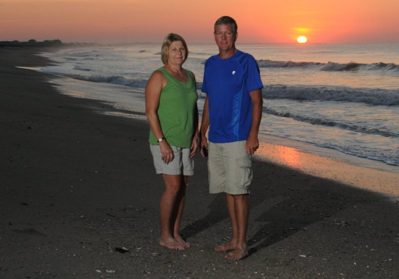 6:00 AM sunrise on Edisto Beach