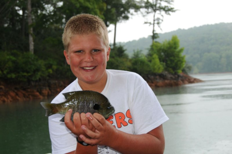 Jacks big Bluegill