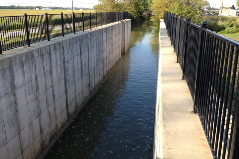 Lock 14 on the Miami Erie Canal (North of St. Marys, Ohio)