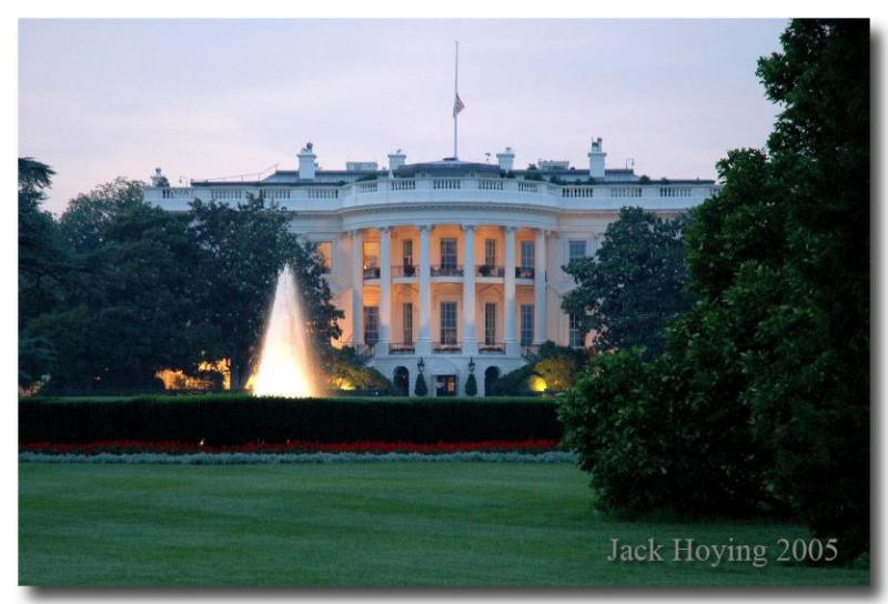 Evening at the White House