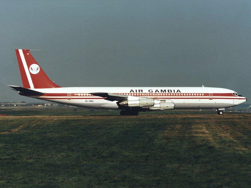 B707-320  EL-AKC