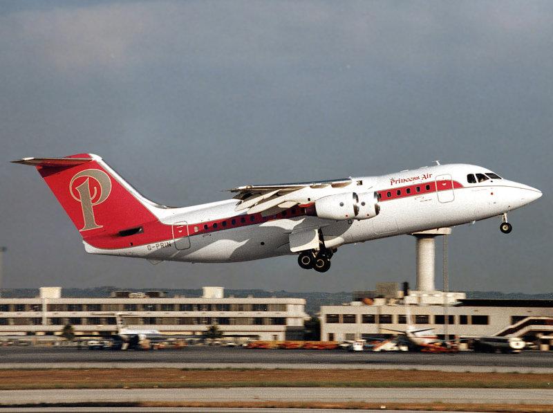 Bae 146-200   G-PRIN