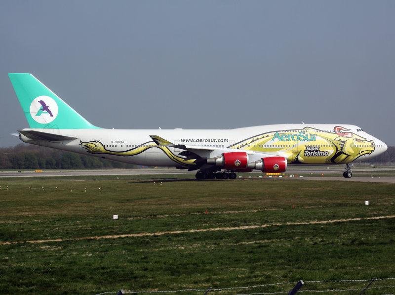 B747-400  G-VROM