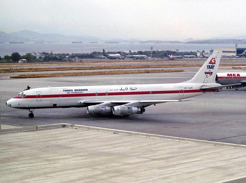 DC8-54F  ST-AJR