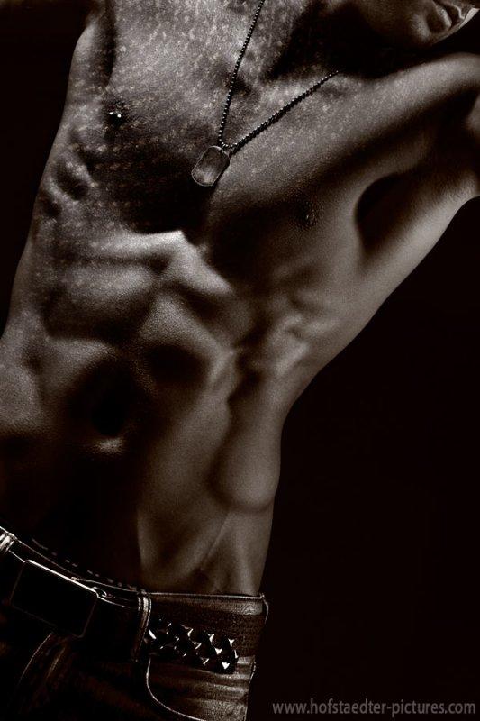 Male body - shot with Nikon D3x