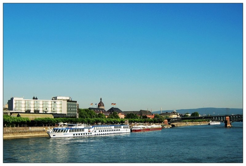 Setting off from Mainz