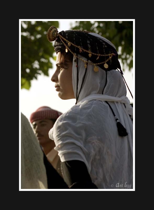 Yaziddi dancer