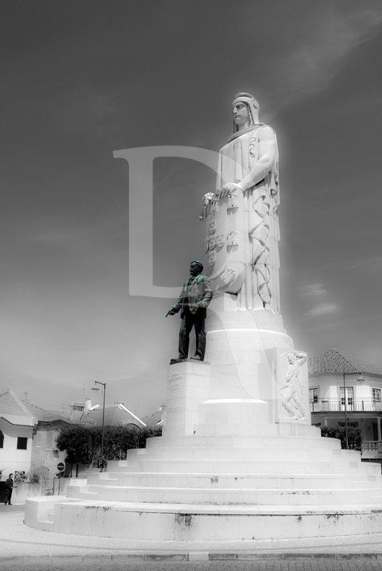 Estátua ao Dr. António José de Almeida, por Leopoldo de Almeida e Pardal Monteiro (1929)